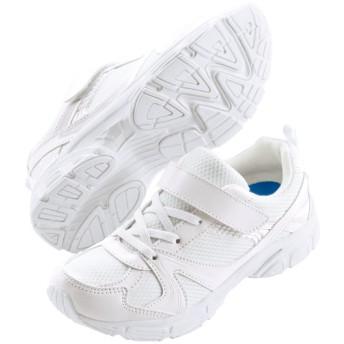 【格安-子供用靴】ジュニア軽量ランニングタイプスニーカー