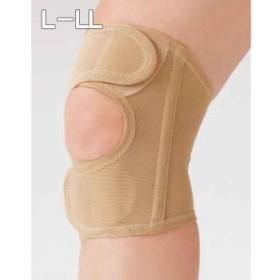 ウォーキングサポーター 膝用 1枚ベージュ L-LL