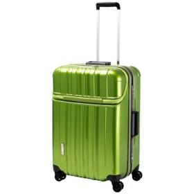 スーツケース TRAVERIST(トラベリスト)TRUSTOP(トラストップ) グリーン 7620427 [75L]