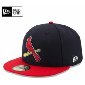 【メーカー取次】 NEW ERA ニューエラ 59FIFTY MLB On-Field セントルイス・カージナルス ネイビーXレッド 11449338 キャップ