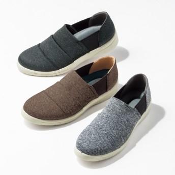 【格安-女性靴】レディース軽量サイドゴアカジュアルシューズ