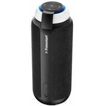 Tronsmart T6 Bluetooth スピーカー 高音質 25W出力 360°全方位サウンド 低音強化 15時間連続再生