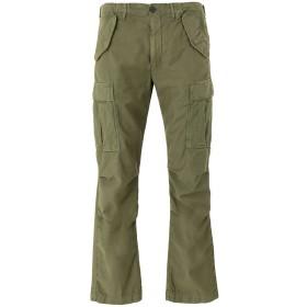 《セール開催中》REDS メンズ パンツ ミリタリーグリーン 30 コットン 100%