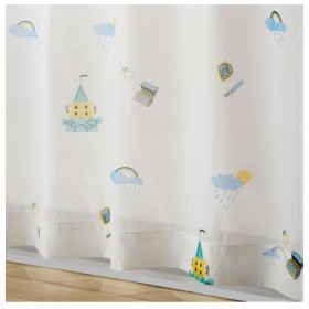 【送料無料!】人魚姫ボイルレースカーテン(おとぎのまち) レースカーテン・ボイルカーテン