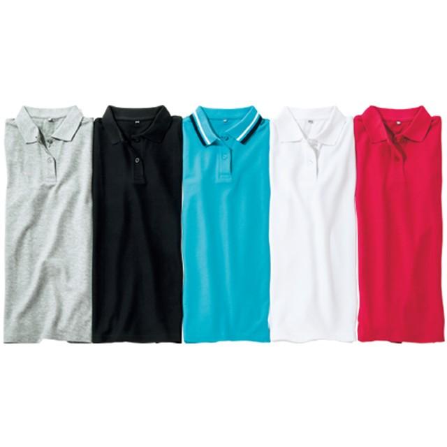 レディース半袖ポロシャツ
