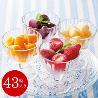 アイス 内祝い 出産 結婚(送料無料)苺アイスとひとくちジェラートセット(メーカー直送)(包装紙/メッセージカード・代引き不可)/ *d-M-ad-660*
