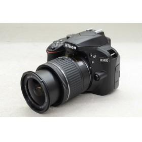 [中古] デジタル一眼レフカメラ Nikon D3400 ダブルズームキット ブラック