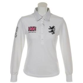 アドミラル(Admiral) ゴルフウェア レディース L/S フラッグ ポロシャツ ADLA893-WHT (Lady's)