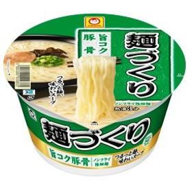 マルちゃん麺づくり 旨コクとんこつ 12個入り×1ケース (東洋水産)【クレジット決済のみ】KK