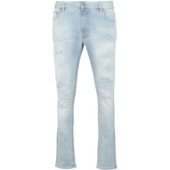 《期間限定 セール開催中》TOMMY HILFIGER メンズ ジーンズ ブルー 30W-32L コットン 93% / ポリエーテル 5% / ポリウレタン 2% LEWIS HAMILTON DISTR DENIM PANTS