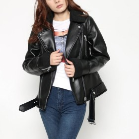 ライダースジャケット - GUESS【WOMEN】 [GUESS] IKUKO JACKET