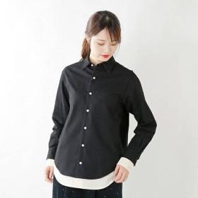 Scye サイ ウールコットンフランネルレイヤードシャツ 1218-33083