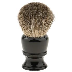 シェービング用ブラシ 柔らかい  メンズ  理容 洗顔 髭剃り 泡立ち 素晴らしい 男性 ギフト