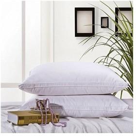 Autvividフェザー枕 羽根枕 羽毛 枕 大判サイズ 7448cm フェザー100% 安眠枕 フェザーピロー ホテル・旅館仕様 一個入り