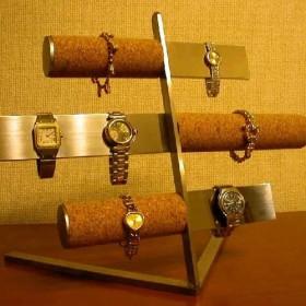 腕時計スタンド バー&コルク腕時計スタンド パート2
