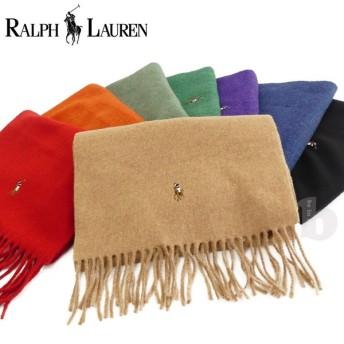 メール便送料無料 ポロ ラルフローレン マフラー 6F0510 ip-0355 POLO RALPH LAUREN スカーフ メンズ 男性 レディース 女性 男女兼用 防寒 暖か