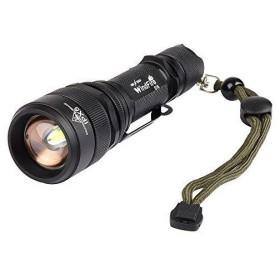 WindFire S16 T6 LED懐中電灯 高輝度 CREE XM-L2 強力 5モード ハンディーライト アウトドア/キャンプ/夜釣り/登山/