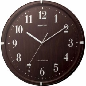 名入れ 名前 入れ 記念品 応相談 電波時計 掛け時計 | ライブリーアリス リズム時計 シチズン 電波掛け時計 電波時計 …