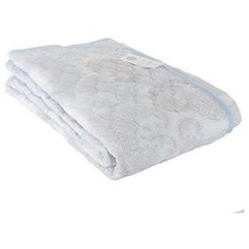 敷きパッド 昭和西川 リップル 敷きパッド シングル 100×205cm ペイズリー ブルー 2241348520302