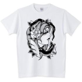 SNAKE GIRL Tシャツ ホワイト