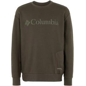 《期間限定セール開催中!》COLUMBIA メンズ スウェットシャツ ミリタリーグリーン M コットン 77% / ポリエステル 23% Bugasweat Crew