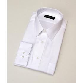 【SALE(伊勢丹)】<アストウッド/ASTWOOD> 【紳士大きいサイズ】AS長袖白ドビーシャツ(ZAD873-200) 200シロ 【三越・伊勢丹/公式】
