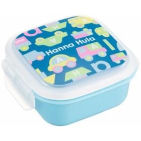 ハンナフラ(Hanna Hula) キッズ デザートケース のりもの ランチシリーズ 日本製 お名前シール付