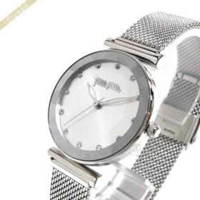 d40573fafd57 フォリフォリ Folli Follie レディース腕時計 Star Flower 31mm シルバー WF18T003BSS-XX [在庫品
