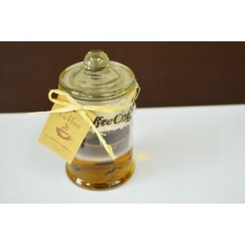 アロマキャンドル コーヒーの香り ガラス容器入り ろうそく フレグランスキャンドル クリスマスキャンドル キャンドル