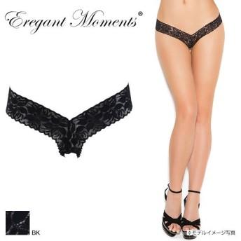 【メール便(5)】 (エレガント モーメンツ)Elegant Moments レースVフロント ショーツ
