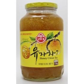 【韓国語版商品】 蜂蜜ゆず茶 1kg
