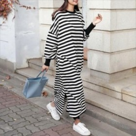 【S~5XL】大きいサイズ 女性服 ヴィンテージ ロング 長袖 カジュアル ドレス 秋新作 70139