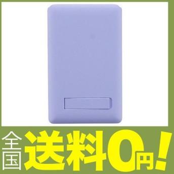 スマートフォン(汎用) ミラー付きカードポケット/ライラック LP-CPMLI