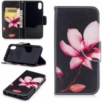 半額セール 50%off iPhone X レザーケース G 強化ガラス保護フィルム付き スマホケース アイフォン X カバー 手帳型スタンド機能 ICカー