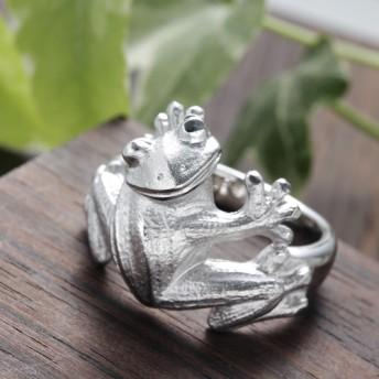 福カエルのリング