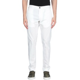 《期間限定セール開催中!》MESSAGERIE メンズ パンツ ホワイト 44 コットン 96% / ポリウレタン 4%