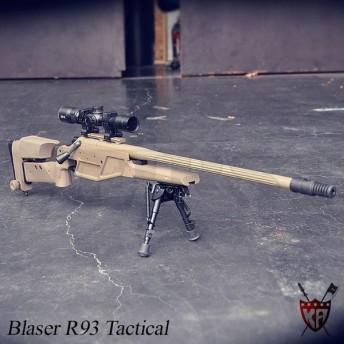 Blaser K93 LRS1 エアーコッキングライフル DE ダークアース ブレイザー ブレーザー 18歳以上 サバゲ (18arm) saiyasu