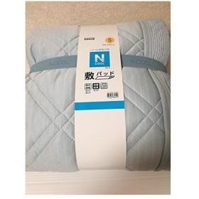 敷きパッド Nクール エヌクール 冷感接触 ひんやり 敷きパッド シングルサイズ(100×200) ライトブルー ニトリ
