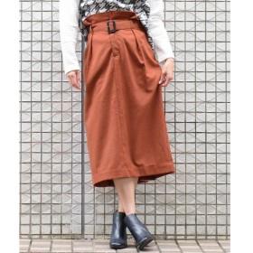 MAYSON GREY / メイソングレイ 【socolla】【WEB別注色】ハイウエストバックボタンスカート