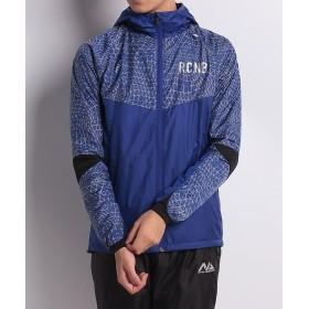 販売主:スポーツオーソリティ ナンバー/メンズ/RUN裏起毛トリコットジャケット メンズ ブルー BM 【SPORTS AUTHORITY】