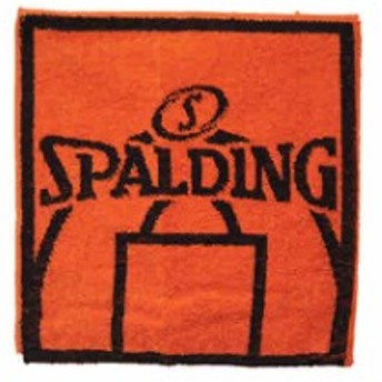 スポルディング バスケットボール ハンドタオル スポーツタオル ボトルホルダータオル SPALDING SAT130650