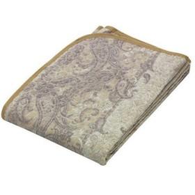 京都西川 敷きパッド 洗える 2重ガーゼ敷きパッド 綿100% シングル 100×205 ベージュ 5GP6511 S