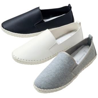 【格安-女性靴】レディース柔らか素材スリッポンカジュアルシューズ