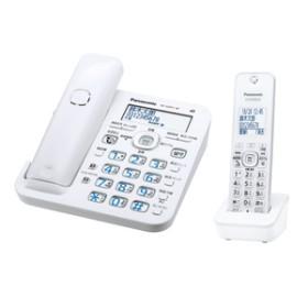 パナソニックデジタルコードレス電話機(子機1台付き)RU・RU・RUホワイトVE-GZ51DL-W