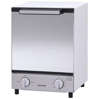 アイリスオーヤマ MOT-012 [ミラーオーブントースター 縦型] オーブン・トースター