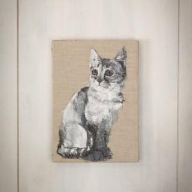 cat / 猫の小さな絵