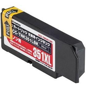 カラークリエーション 「互換」エコカートリッジ専用交換用インクタンク CCC-TNK351LBK (ブラック)