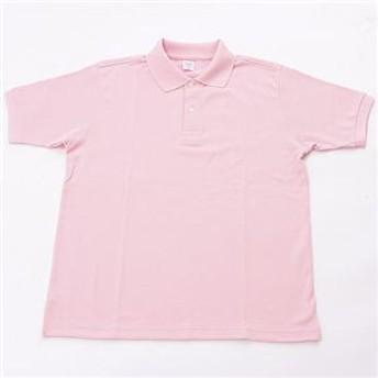 ドライメッシュアクティブ半袖ポロシャツ ソフトピンク LL
