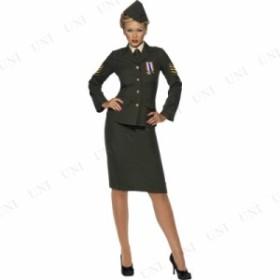 ウォータイム・オフィサー 大人用 PLUS SIZE X1 衣装 コスプレ ハロウィン 仮装 余興 大人 レディース 大きいサイズ アーミー サバイバル
