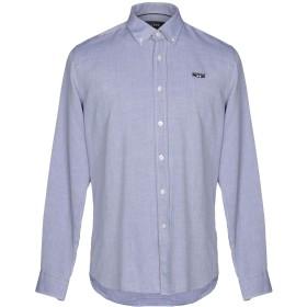 《セール開催中》GALVANNI メンズ シャツ ブルーグレー S コットン 100%